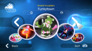 Funkytown jdsp menu