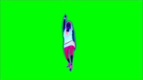 Just Dance Now - Pon De Replay Green Screen Extraction