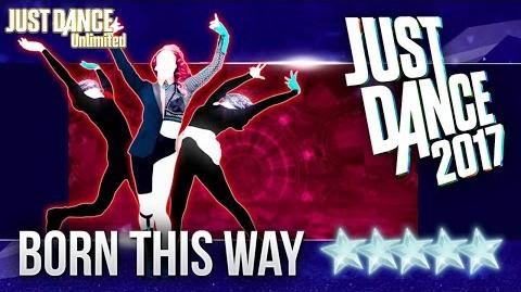 Just Dance 2017 Born This Way by Lady Gaga - 5 stars