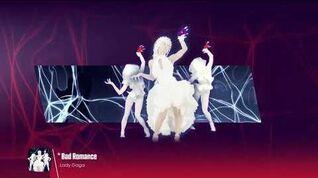 Lady Gaga - Bad Romance (Just Dance 2015 In-Game Version)