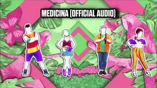 Medicina (Official Audio) - Just Dance Music