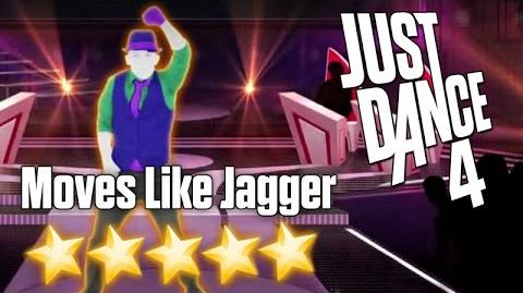 Just Dance 4 - Moves Like Jagger - 5 stars