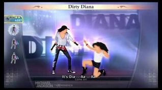 Michael Jackson The Experience Dirty Diana (PS3) (FULL HD)