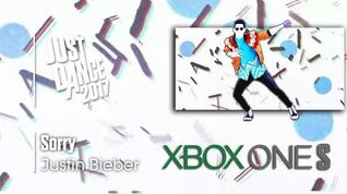 Sorry - Justin Bieber Just Dance 2017 Demo Menu (4K Xbox One S)