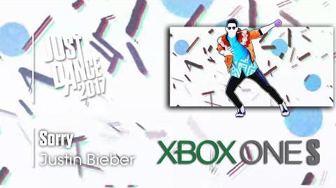 Sorry - Justin Bieber Just Dance 2017 Demo Menu (4K Xbox One S)
