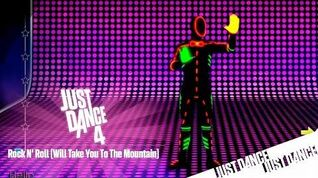Just Dance 4 - Rock N' Roll (Will Take You To The Mountain) Mashup