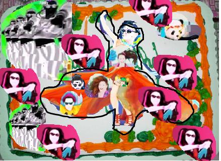 Image Birthday Cake Just Dancepng Just Dance Wiki FANDOM