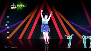 Just Dance 4 DLC - So Glamorous - The Girly Team - 5 Stars