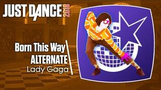 Just Dance 2018 (Unlimited) Born This Way - Alternate (Versão Nerd)