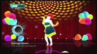 Just Dance 3 Katy Perry Teenage Dream
