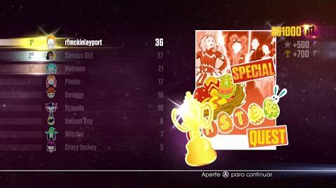 Just Dance 2016 - JD Unlimited Quest (Special Easter Quest - Dance Master) - 12 14