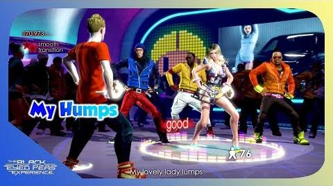 My Humps - The Black Eyed Peas Experience (Xbox 360) (Area 246)