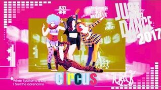 Just Dance 2017 unlimited Circus 5 stars
