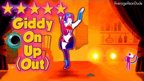 Just Dance 3 - Giddy On Up (Giddy On Out) - 5* Stars
