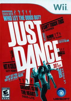 Just Dance Box Art