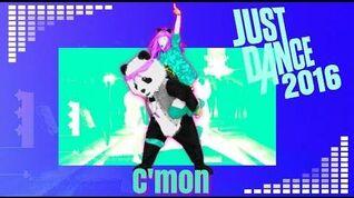 Just Dance 2016 unlimited C'mon 5 stars