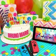 Finesse brunomars birthday gift