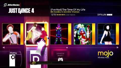 Just Dance 4 Menu Xbox 360 (complet)-(PAL)