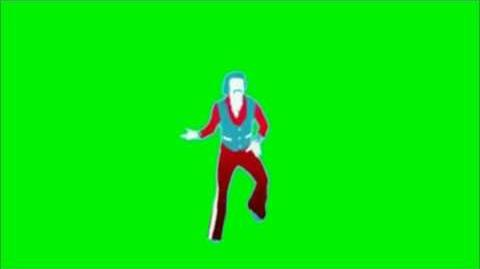 Just Dance Now - A Little Less Conversation Green Screen Extraction