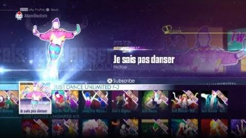(PS4) Just Dance® 2016 Je Sais Pas Danser By Natoo