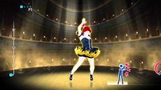 Just Dance 4 Cercavo Amore - Emma (PAL exclusive song)