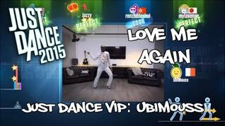 PS4 Just Dance 2015 - Love Me Again - Just Dance VIP UbiMouss