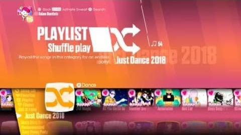 (PS4) Just Dance® 2018 Songlist Menu (Easter Theme)