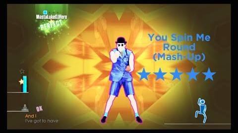 Just Dance 2015 You Spin Me Round (Like a Record) - Funny Guys Mash-Up (5 Stars)