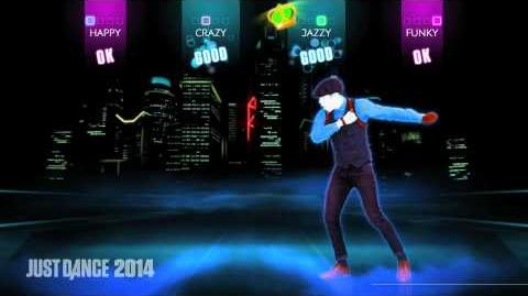 Chris Brown -- Fine China Just Dance 2014 Gameplay