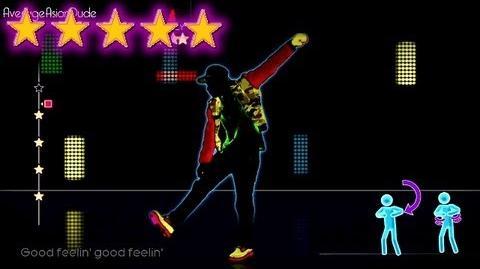 Just Dance 4 - Good Feeling - 5* Stars