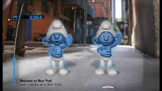 The Smurfs Dance Party Welcome To New York
