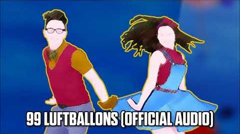 99 Luftbaloons (Official Audio) - Just Dance Music