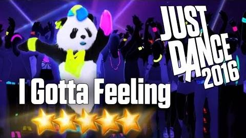 Just Dance 2016 - I Gotta Feeling - 5 stars