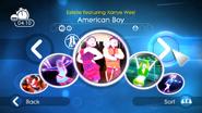 Americanboy jdsp menu