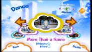 Morethananame in-game menu