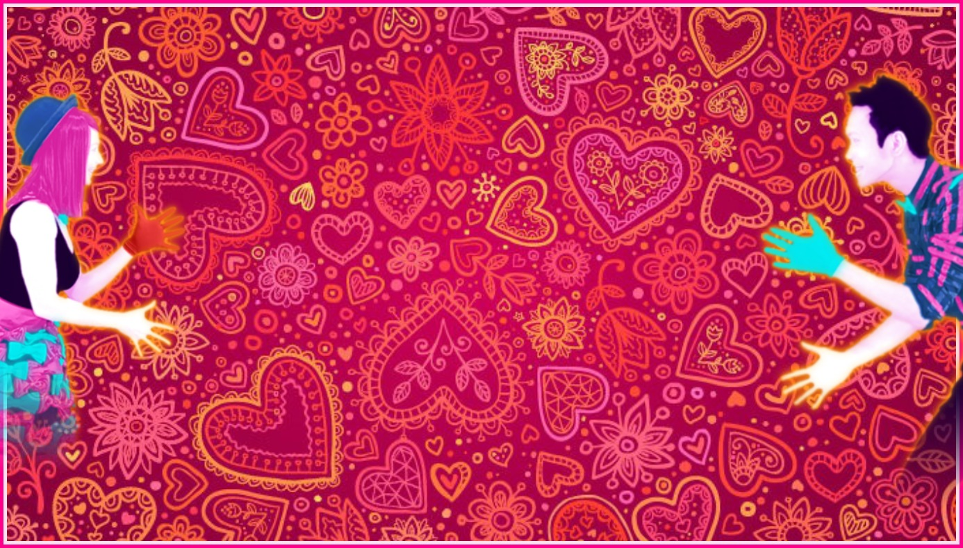 image red heart valentines day card background vector 1 jpg