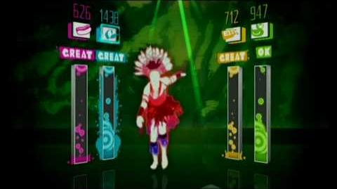 "Just Dance™ Gameplay ""Jin Go Lo Ba"" Fatboy Slim"
