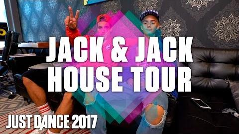 Jack & Jack Interview and House Tour - Just Dance 2017 (US)