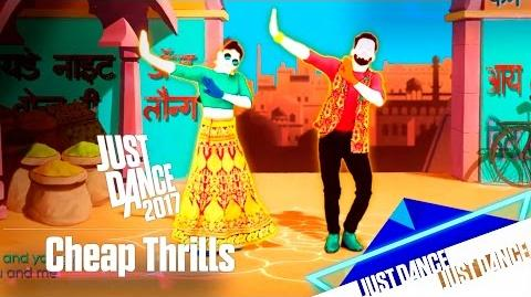 Just Dance 2017 - Cheap Thrills - Alternativa