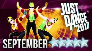 Just Dance 2017 September - 5 stars