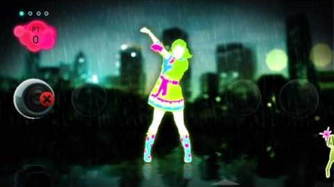 "Just Dance 2 ""It's Raining Men"" by The Weather Girls - HQ Choreography"