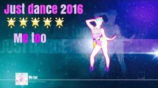 Just Dance 2016 unlimited Me Too 5 stars