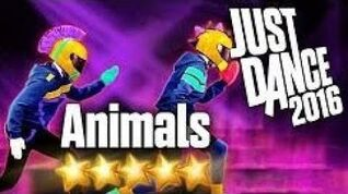 Animals-just dance 2020