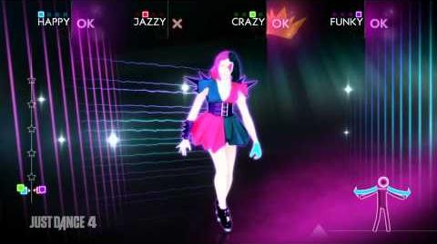 """""""Disturbia"""" by Rihanna - Just Dance 4 track!"""