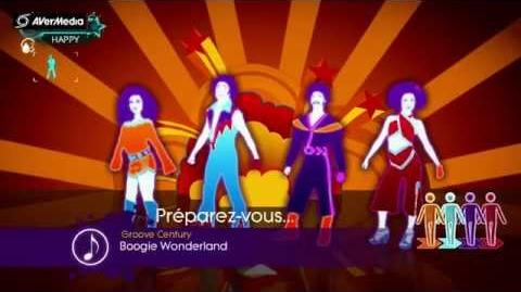 Just Dance 3 Boogie Wonderland, Earth Wind & Fire feat