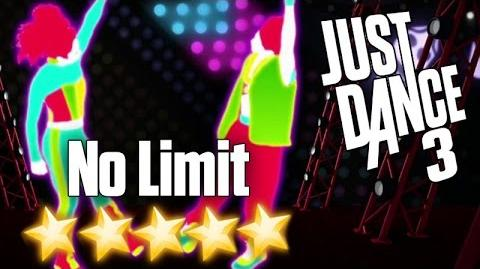 No Limit - Just Dance 3 (Xbox 360 graphics)
