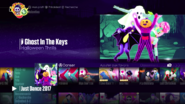 Ghostinthekeys menu