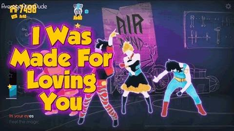 Just Dance Now - I Was Made For Loving You - 4* Stars