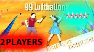 Just dance 2017 99 Luftballons 2 players SUPERSTAR