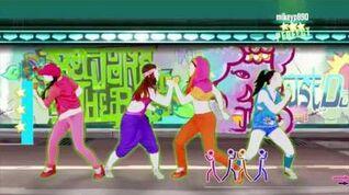 Just Dance 2017 Beware Of The Boys 5 stars superstar Nintendo Switch Phone Gameplay